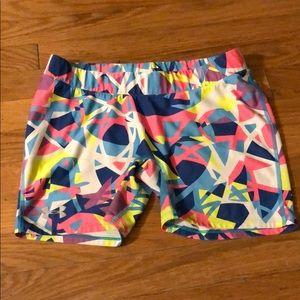 Under Armour Sz L compression shorts